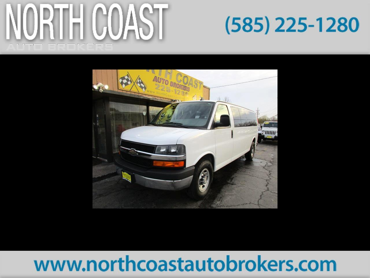 "2017 Chevrolet Express Passenger RWD 3500 155"" LT"
