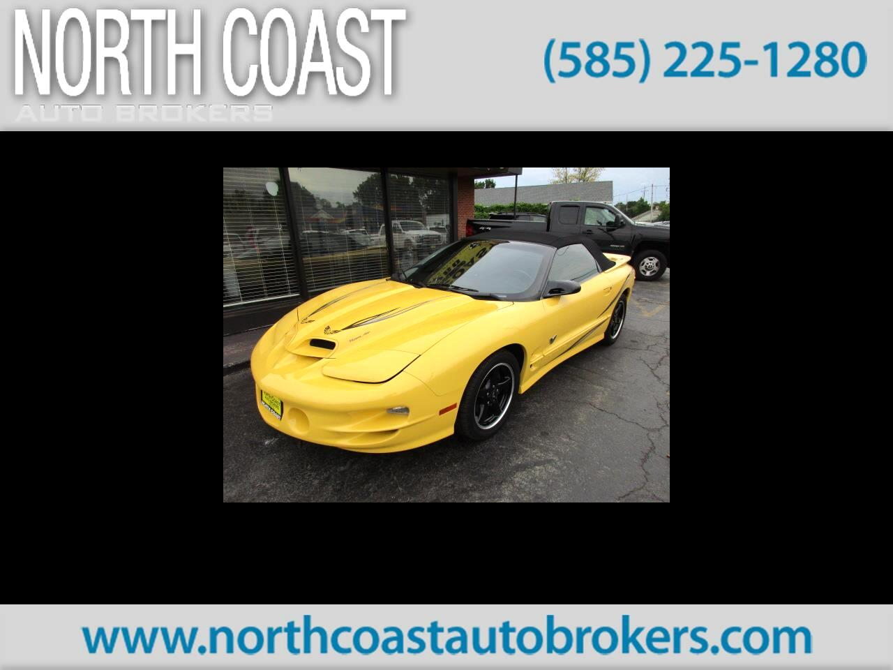 2002 Pontiac Trans Am Convertible