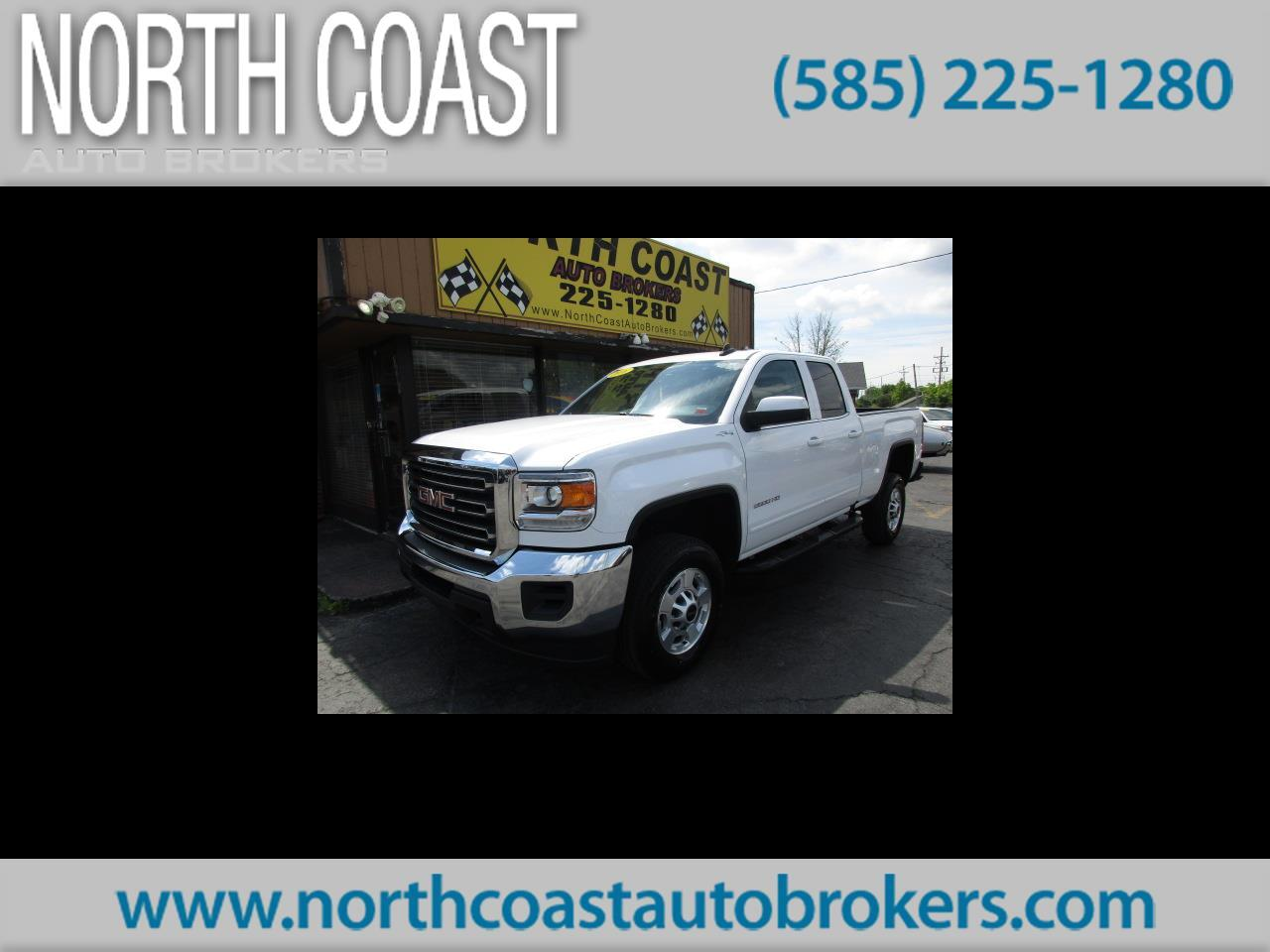 2016 GMC Sierra 2500HD SLE Double Cab 4WD