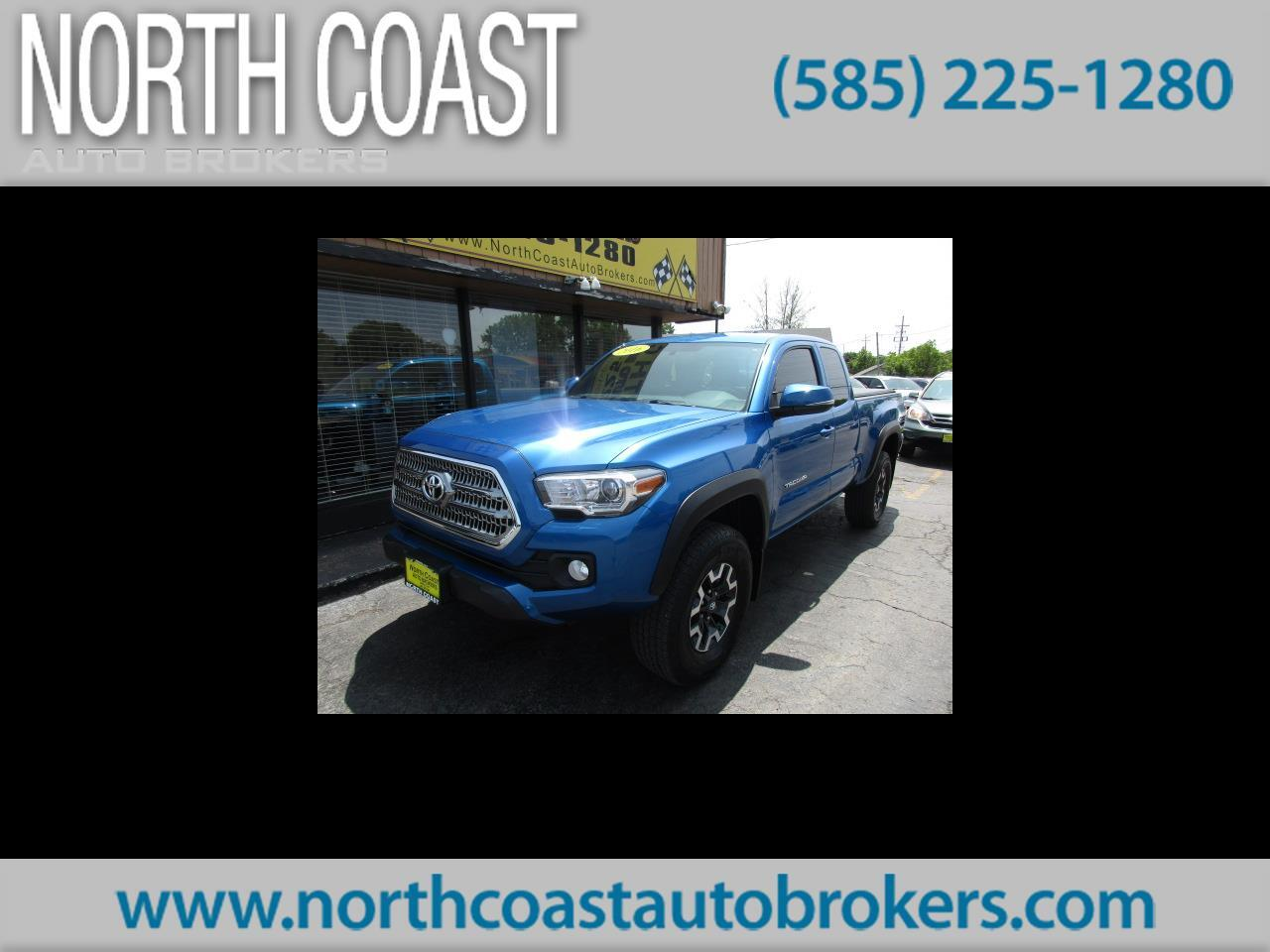 2016 Toyota Tacoma TRD Sport Access Cab 6' Bed V6 4x4 AT (Natl)