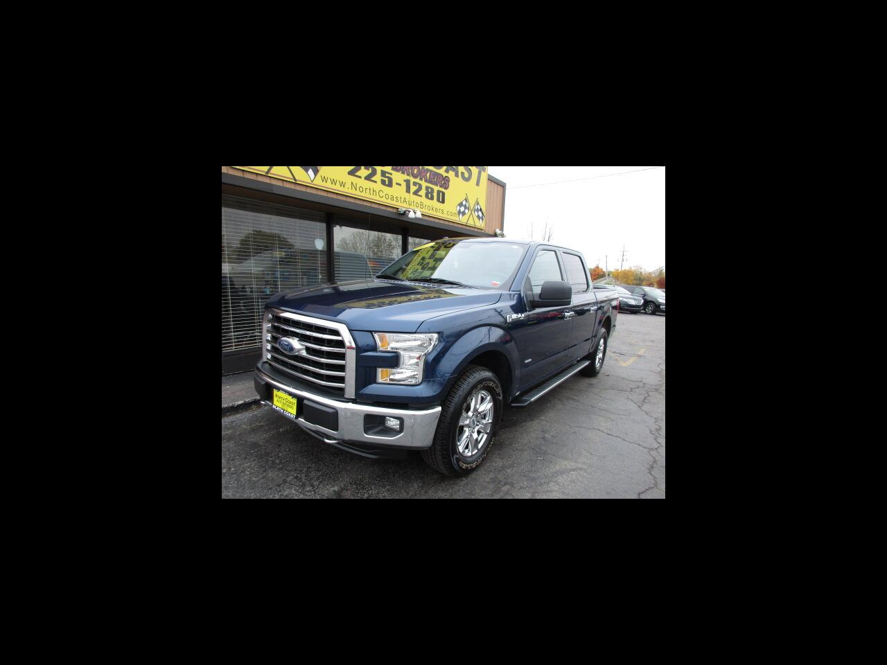 Ford F-150 XLT SuperCrew 6.5-ft. Bed 4WD 2016