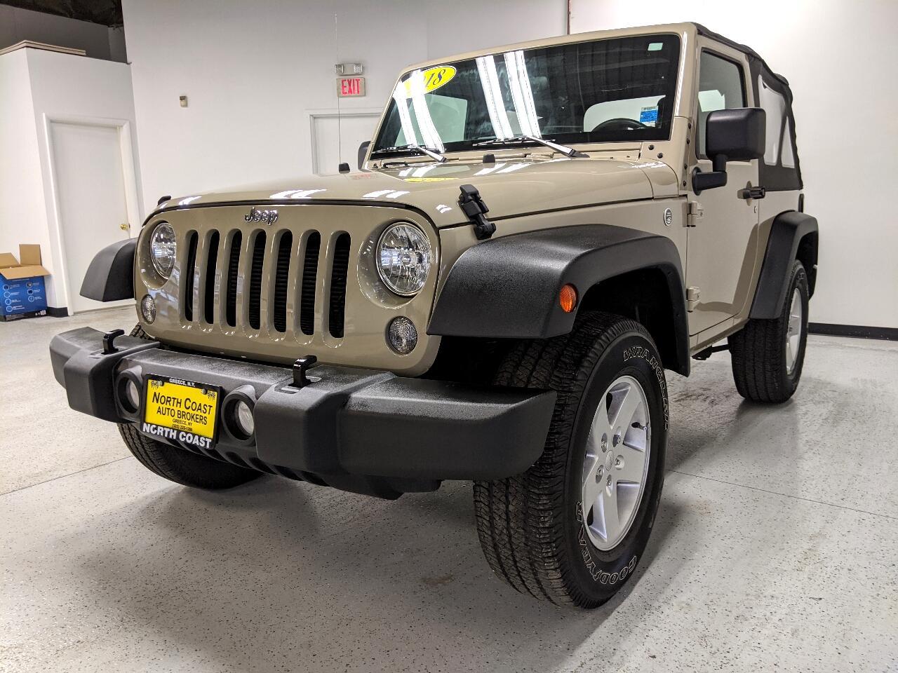Jeep Wrangler JK Sport 4WD 2018