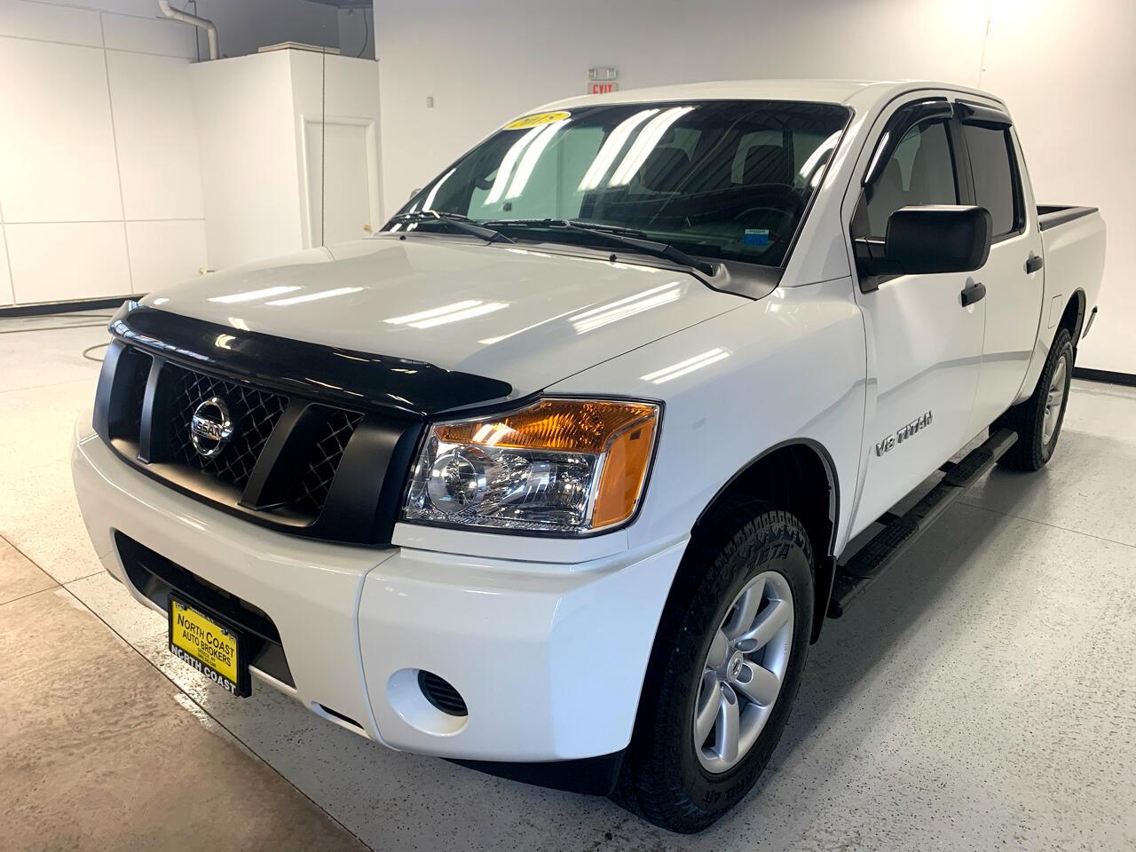 Nissan Titan SV Crew Cab 4WD 2015