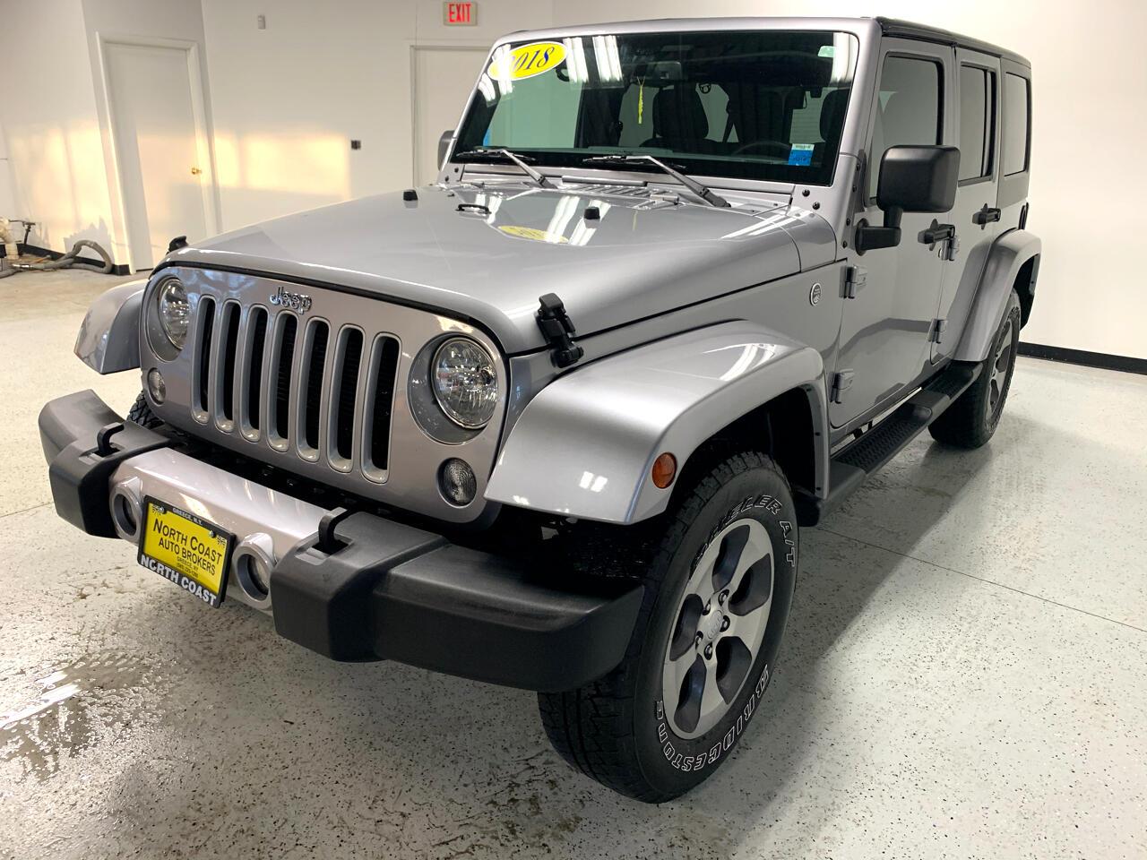 Jeep Wrangler JK Unlimited Sahara 4WD 2018