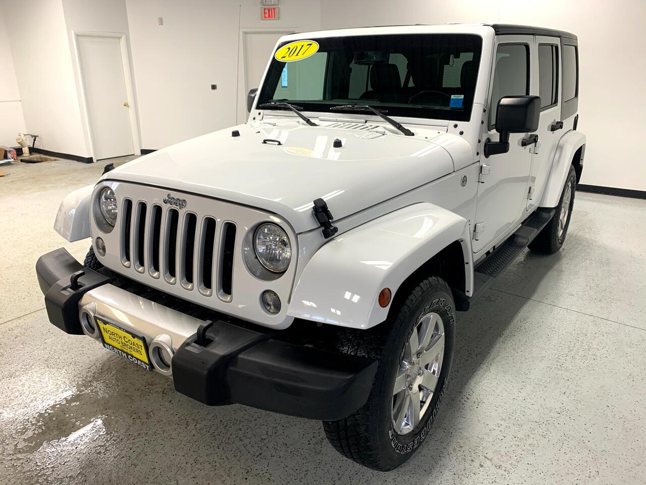 Jeep Wrangler Unlimited Sahara 4WD 2017