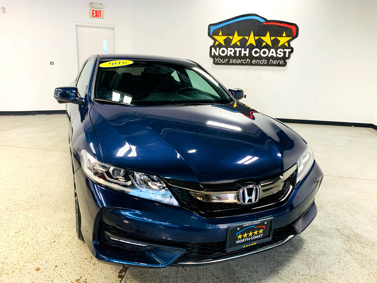 Honda Accord EX-L Coupe CVT 2016