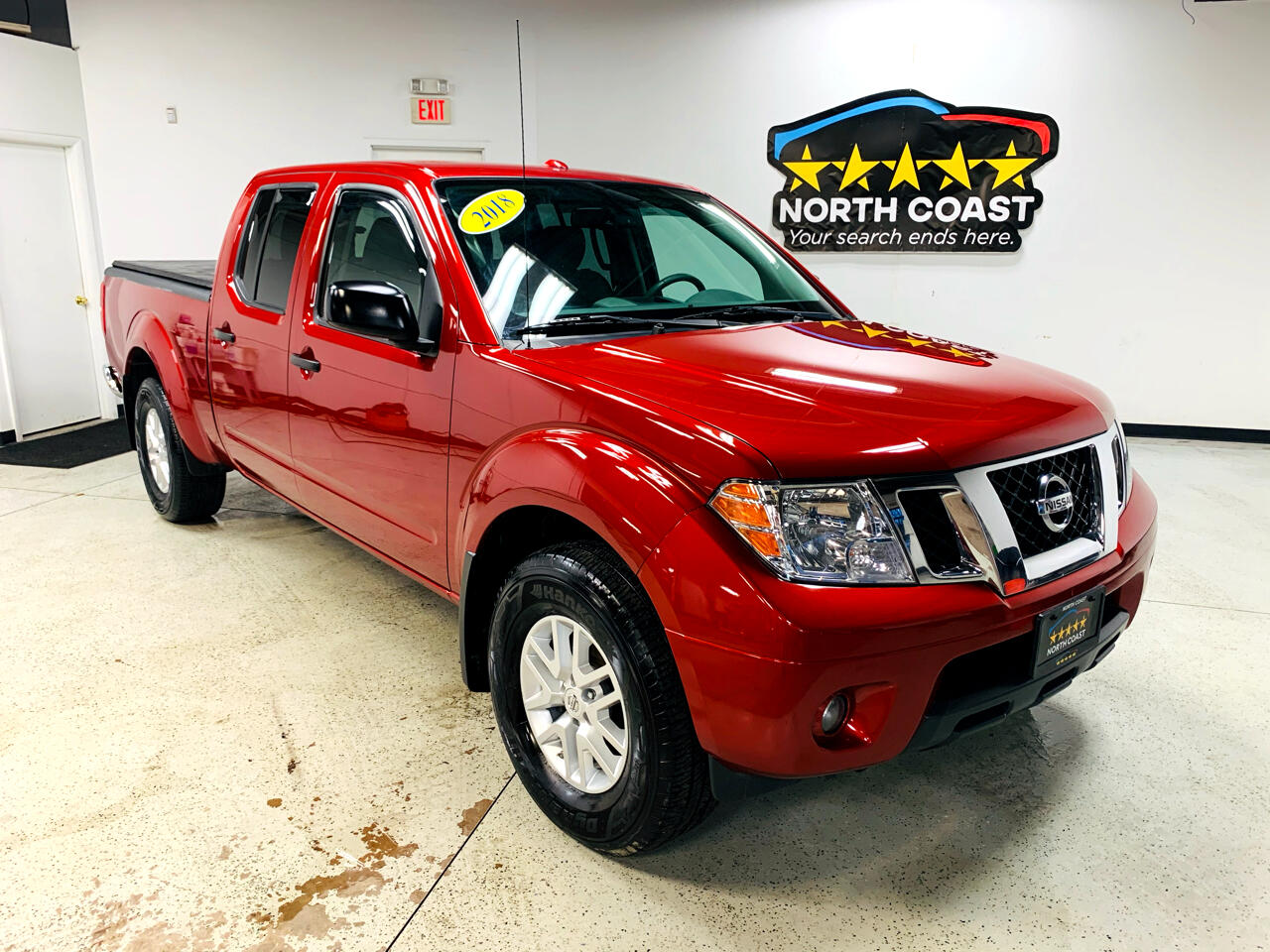 Nissan Frontier SV Crew Cab LWB 5AT 4WD 2018
