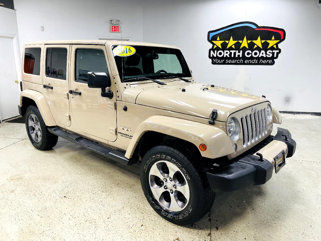 Jeep Wrangler Unlimited Sahara 4WD 2016