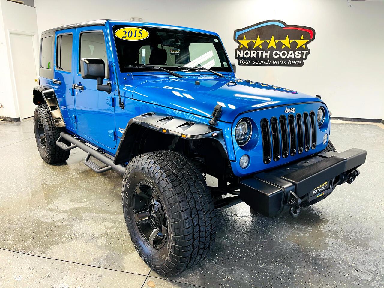 Jeep Wrangler Unlimited Sahara 4WD 2015
