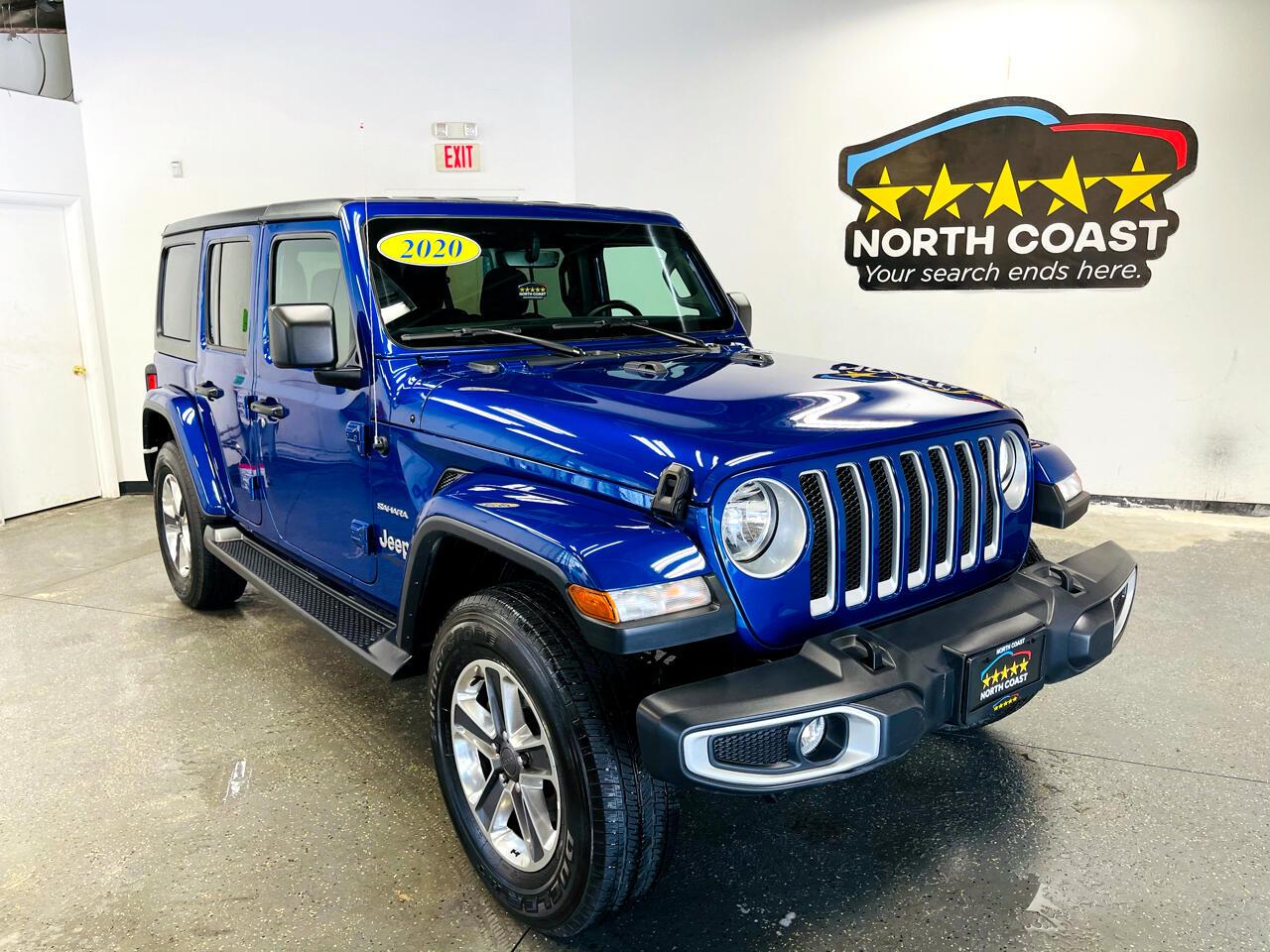Jeep Wrangler Unlimited Sahara 4WD 2020