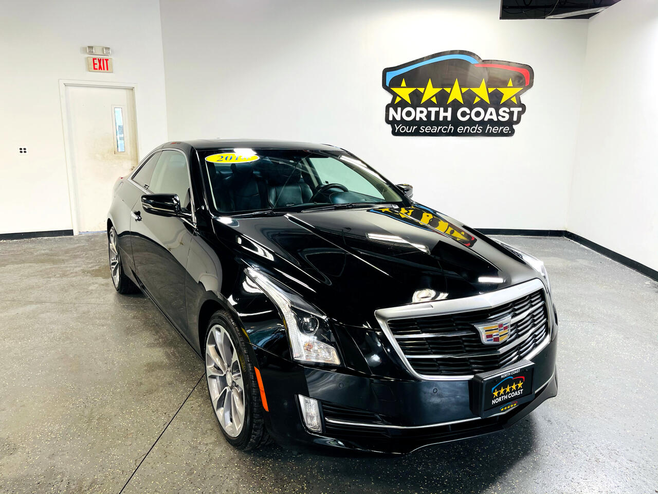 Cadillac ATS Coupe 3.6L Premium Luxury AWD 2018