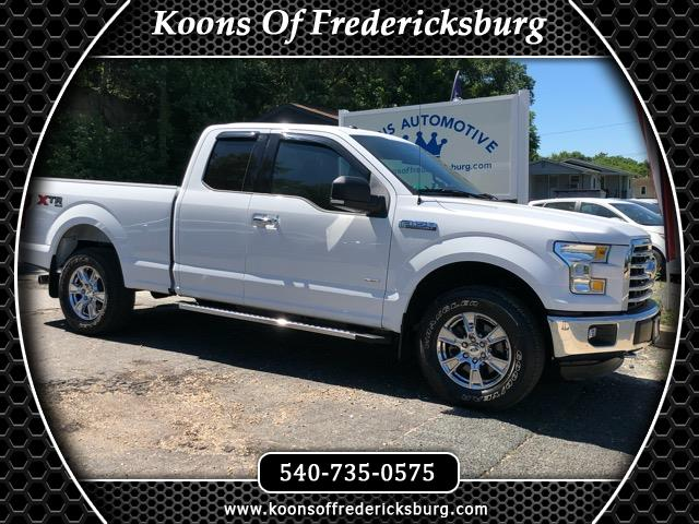 2016 Ford F-150 Lariat SuperCab 8-ft. 4WD