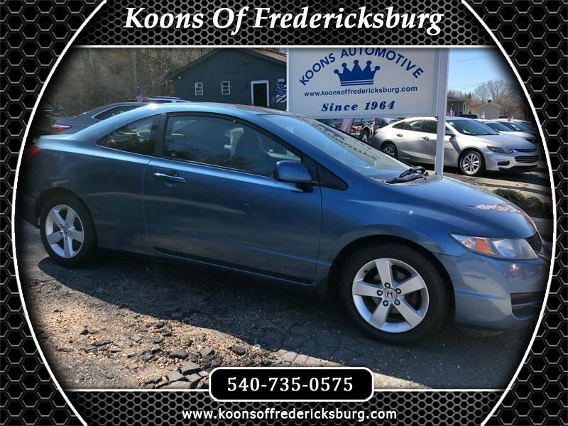2009 Honda Civic LX Coupe 5-Speed MT