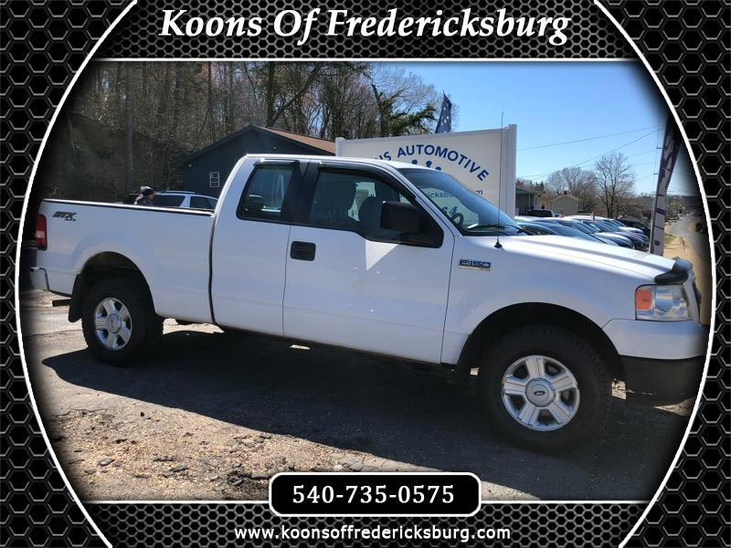 2005 Ford F-150 STX SuperCab 4WD