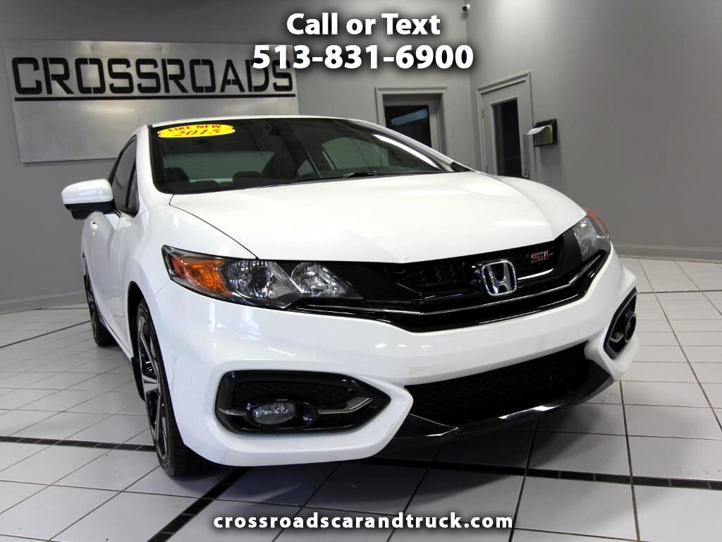 2015 Honda Civic Si Coupe 6-Speed MT