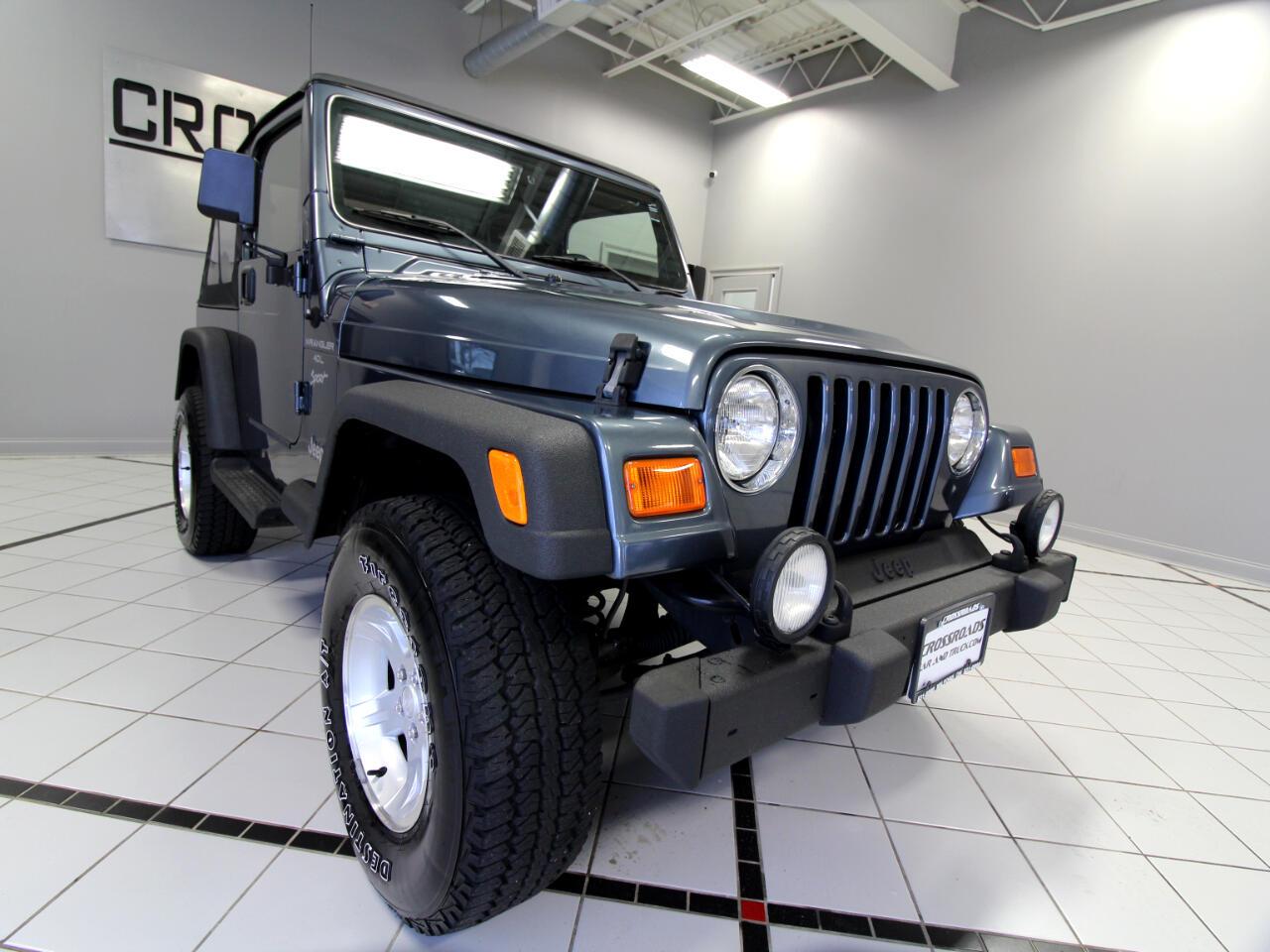 2001 Jeep Wrangler 2dr Sport