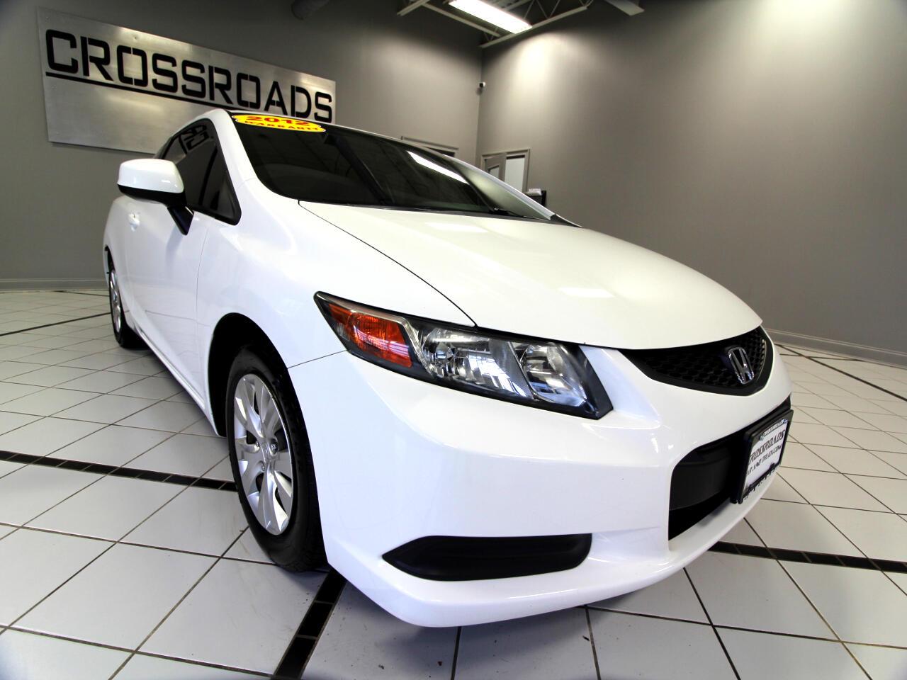 2012 Honda Civic Cpe 2dr Auto LX