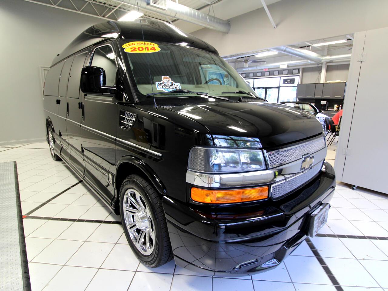 """2014 Chevrolet Express Cargo Van RWD 2500 155"""" Upfitter"""