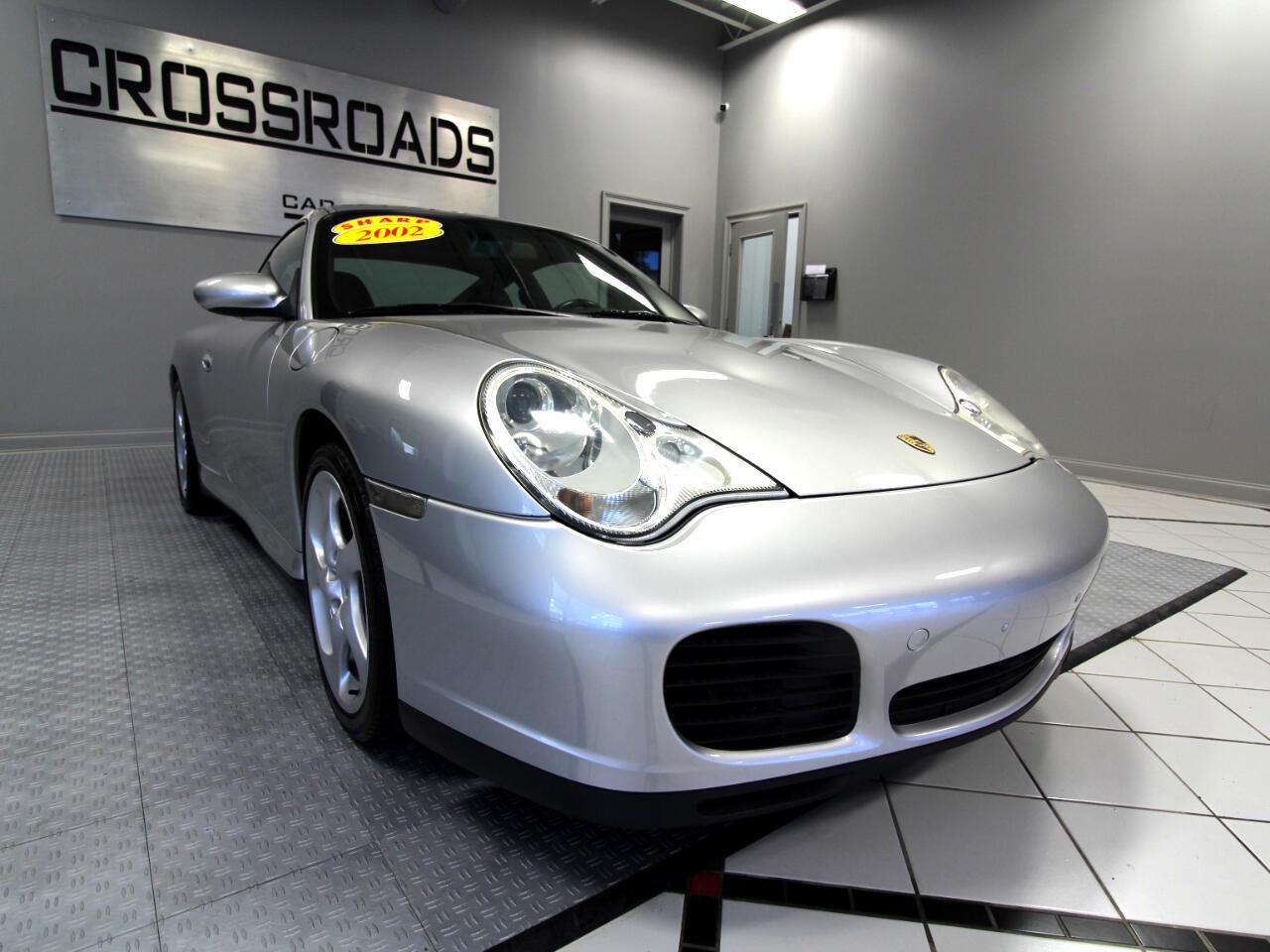 2002 Porsche 911 Carrera 2dr Carrera 4 S Cpe 6-Spd Manual