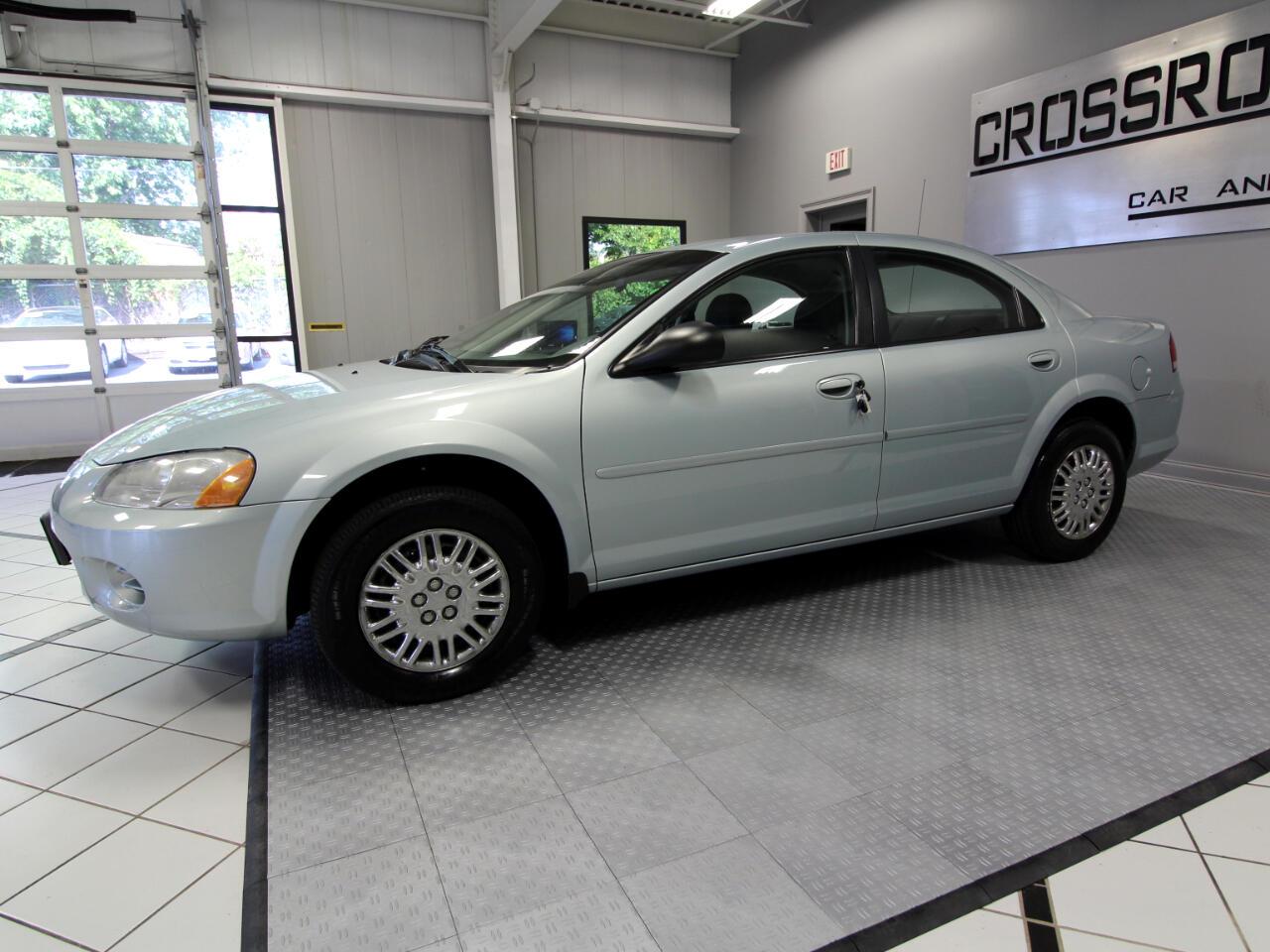 2002 Chrysler Sebring 4dr Sdn LX