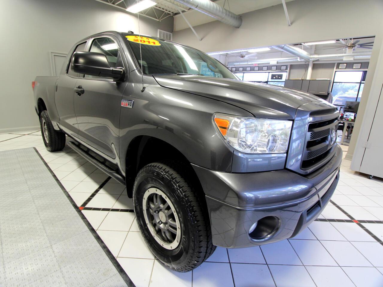 2011 Toyota Tundra 4WD Truck Double Cab 5.7L FFV V8 6-Spd AT TRD Pro (Natl)