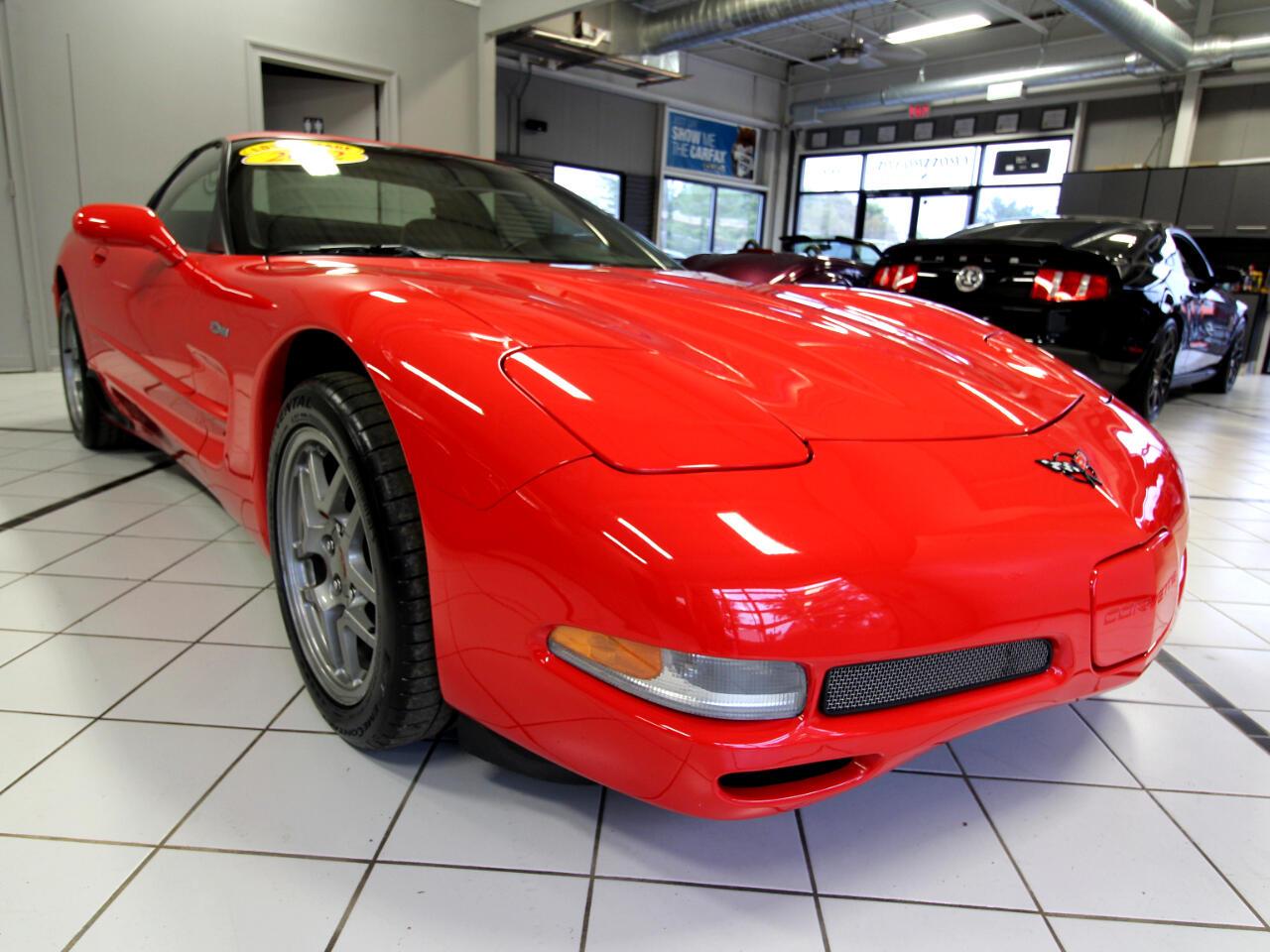 2002 Chevrolet Corvette 2dr Z06 Hardtop
