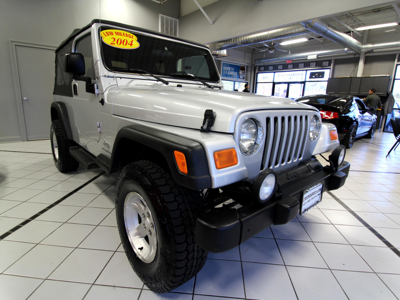 Jeep Wrangler 2dr Unlimited LWB 2004
