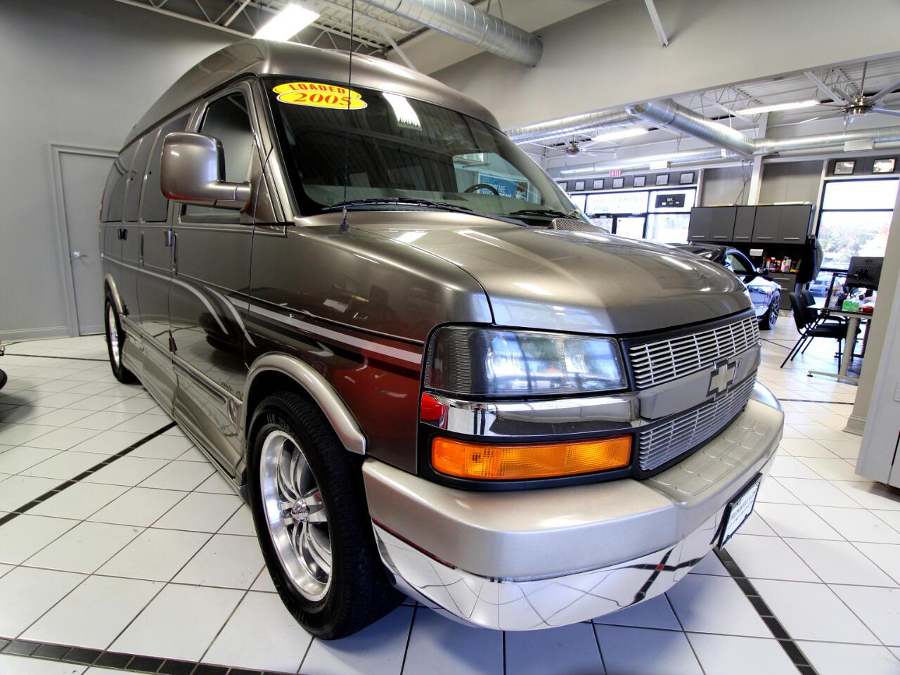 "Chevrolet Express Cargo Van 1500 135"" WB AWD YF7 Upfitter 2005"
