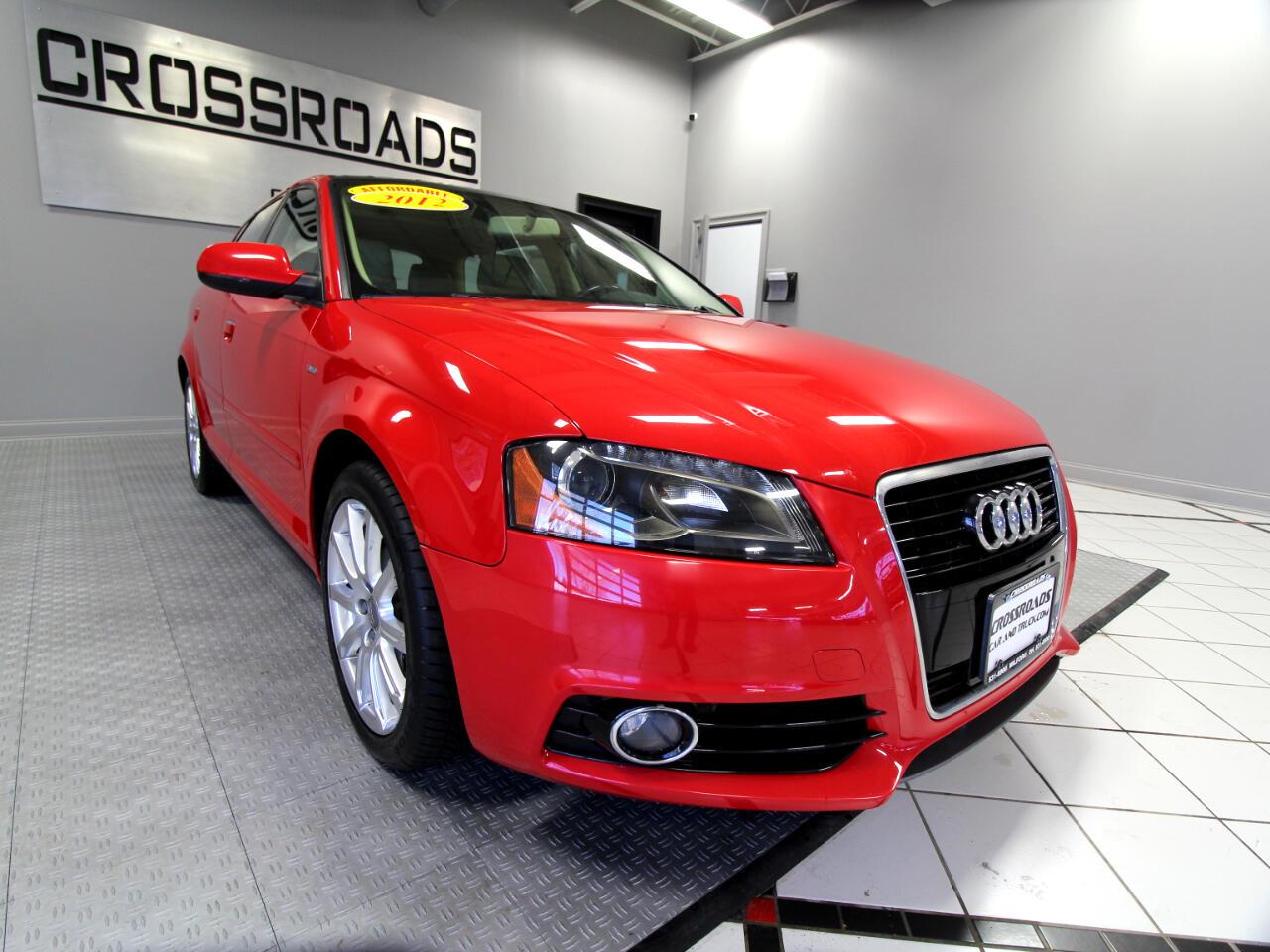 Audi A3 4dr HB S tronic FrontTrak 2.0 TDI Premium Plus 2012