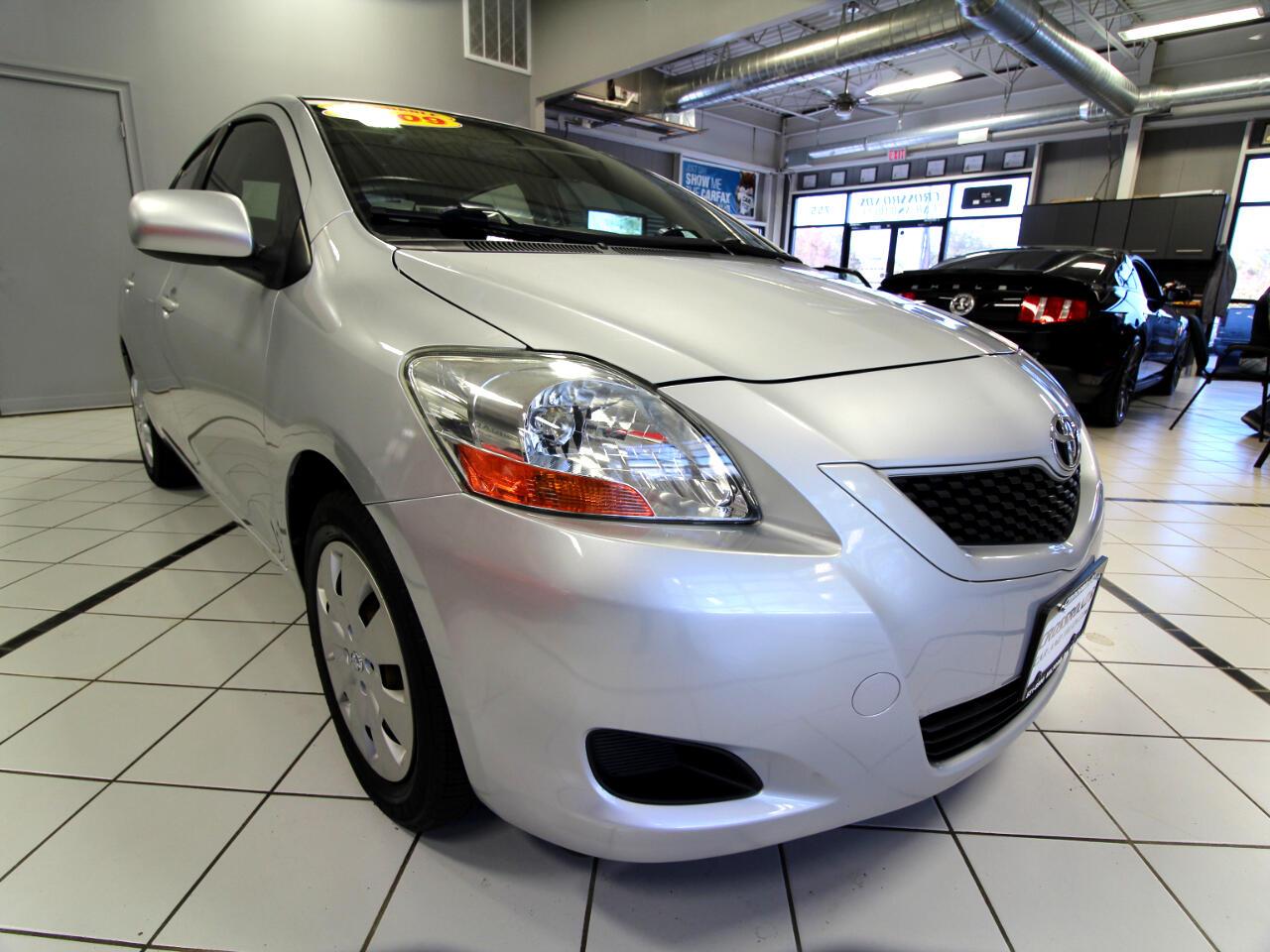 Toyota Yaris 4dr Sdn Auto (Natl) 2009