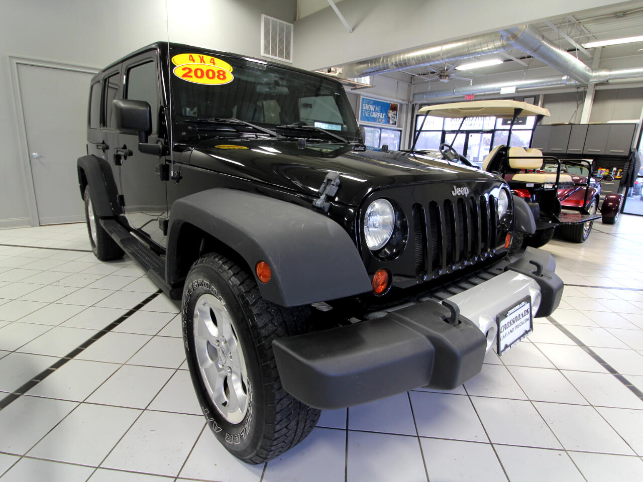 Jeep Wrangler 4WD 4dr Unlimited Sahara 2008