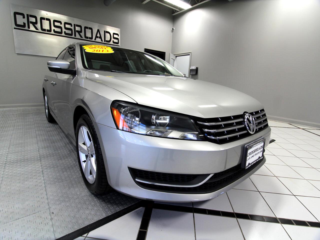 Volkswagen Passat 4dr Sdn 2.0L DSG TDI SE w/Sunroof 2013