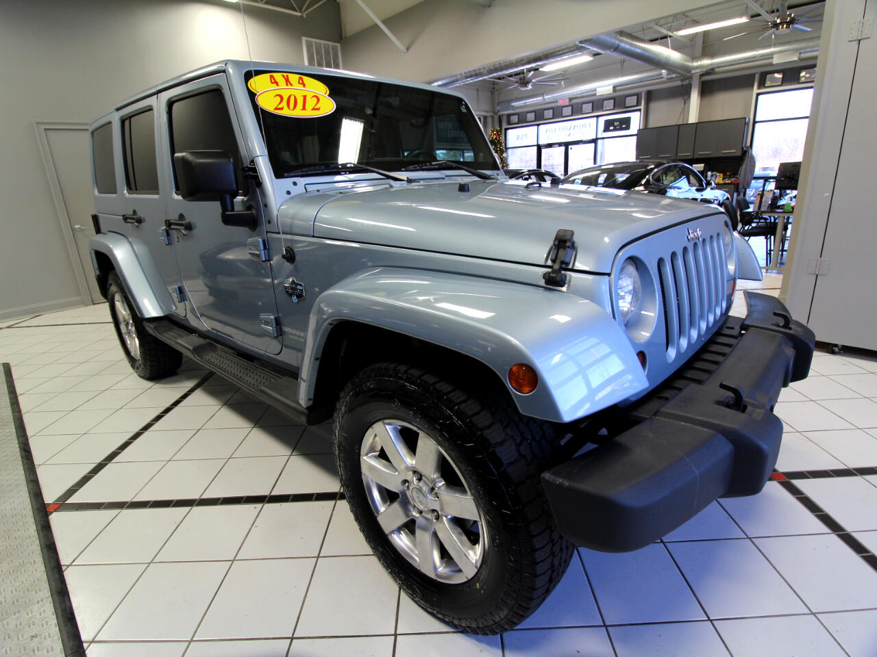Jeep Wrangler Unlimited 4WD 4dr Arctic *Ltd Avail* 2012
