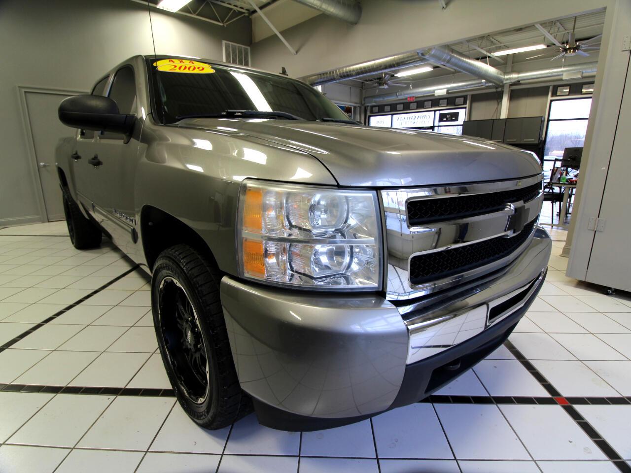 """Chevrolet Silverado 1500 4WD Crew Cab 143.5"""" LT 2009"""