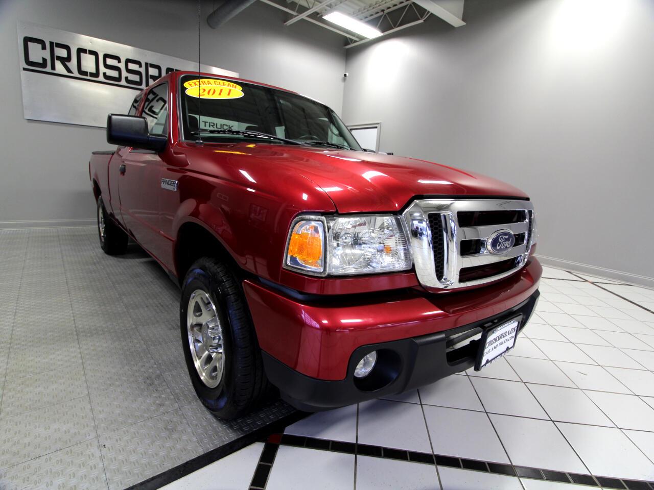 """Ford Ranger 2WD 2dr SuperCab 126"""" XLT 2011"""