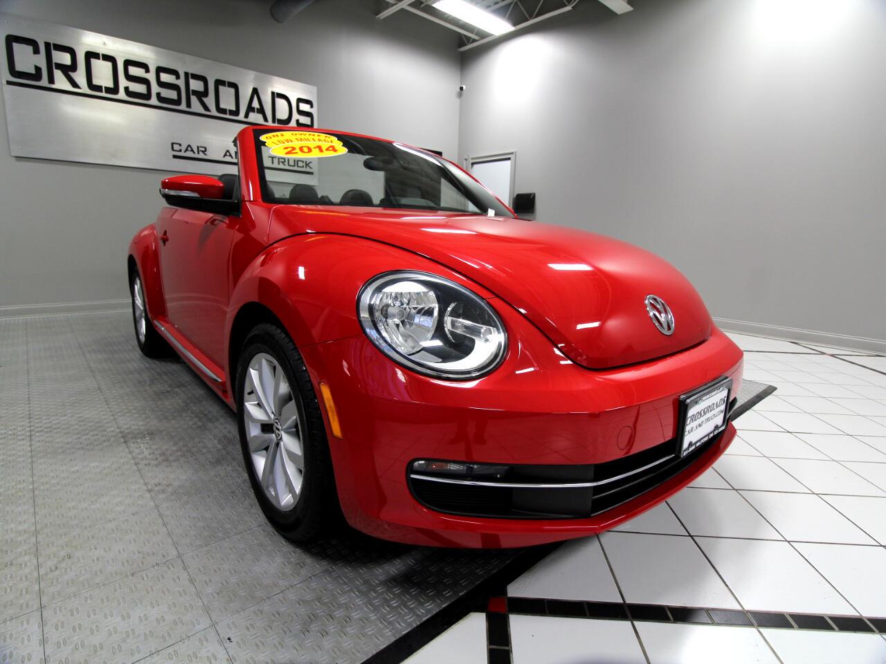 Volkswagen Beetle Convertible 2dr DSG 2.0L TDI 2014