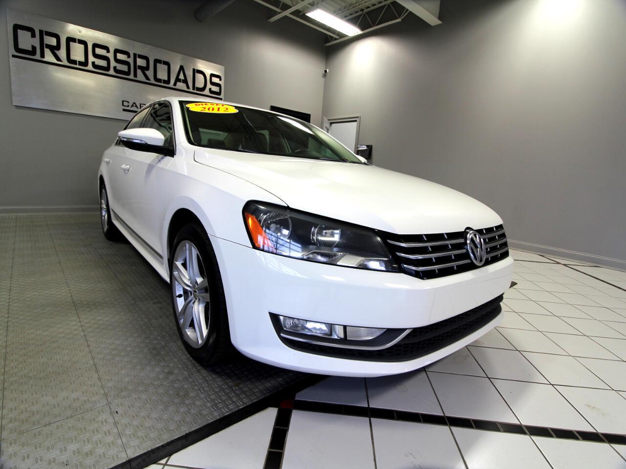 Volkswagen Passat 4dr Sdn 2.0L DSG TDI SEL Premium 2012