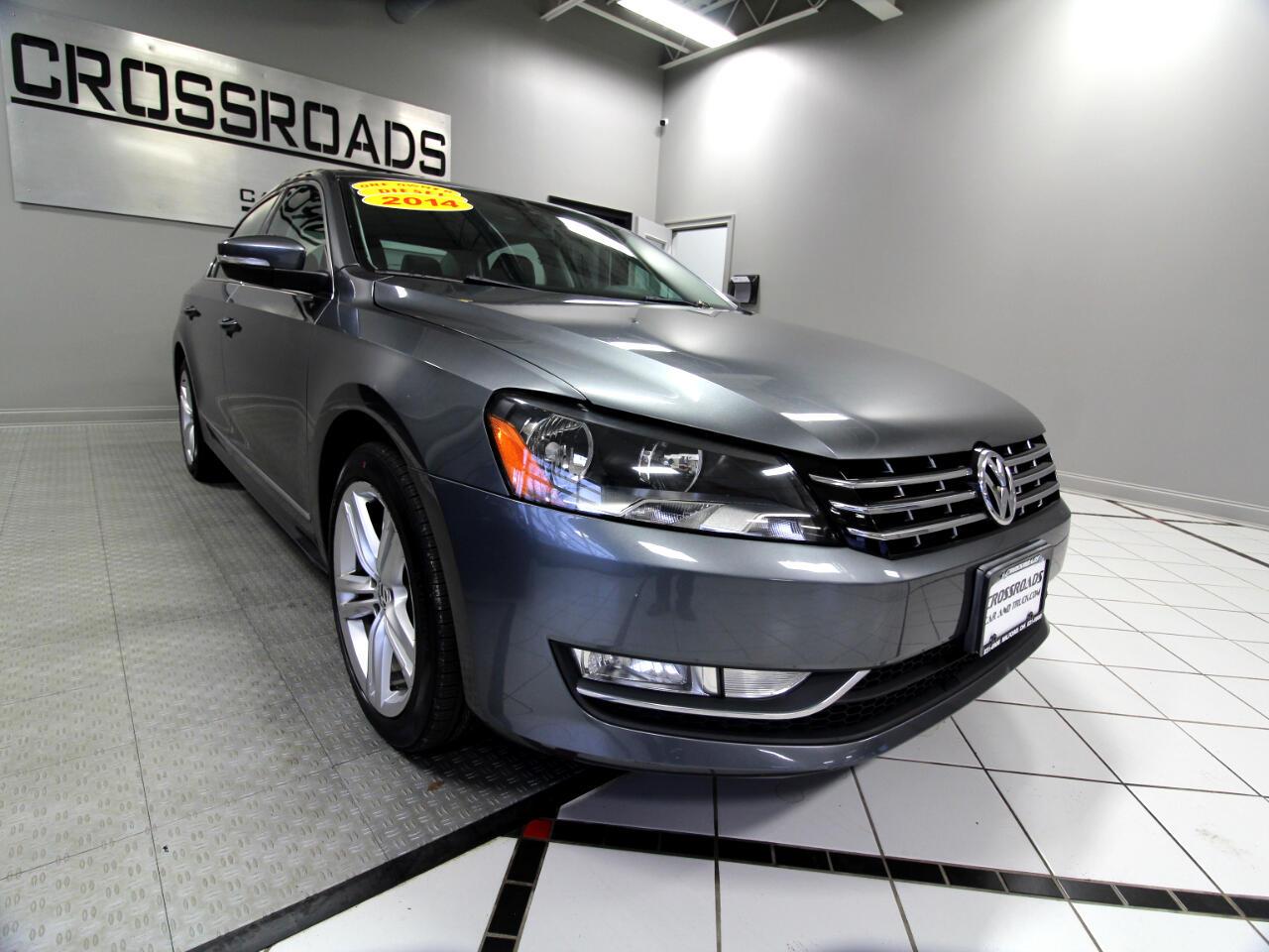 Volkswagen Passat 4dr Sdn 2.0L DSG TDI SEL Premium 2014
