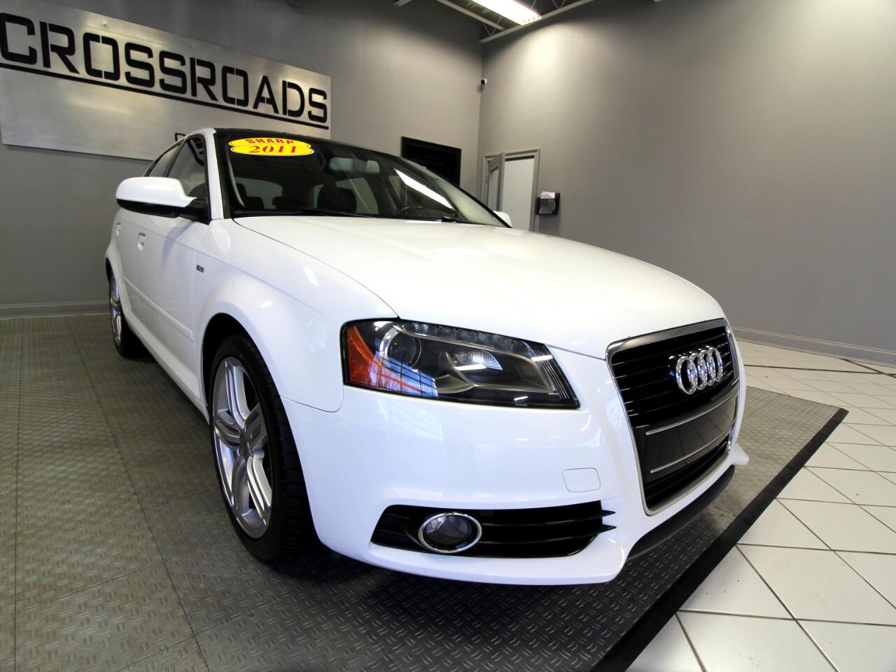Audi A3 4dr HB S tronic FrontTrak 2.0 TDI Premium Plus 2011