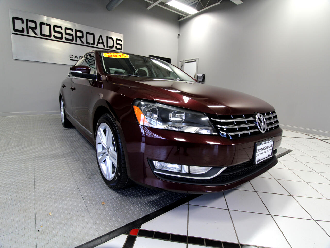 Volkswagen Passat 4dr Sdn 2.0L DSG TDI SEL Premium 2013