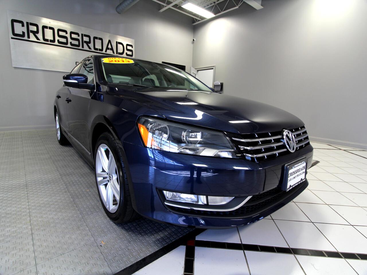 Volkswagen Passat 4dr Sdn 2.0L DSG TDI SE w/Sunroof & Nav 2013