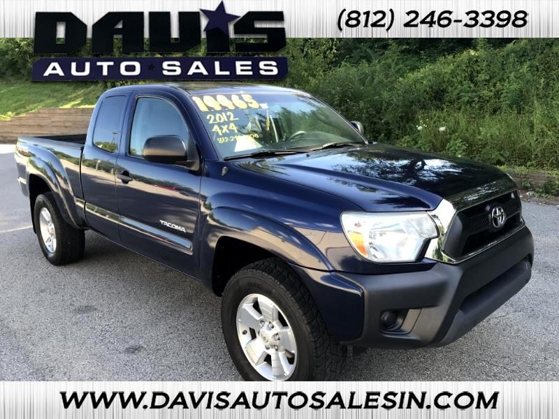 2012 Toyota 4WD Pickups