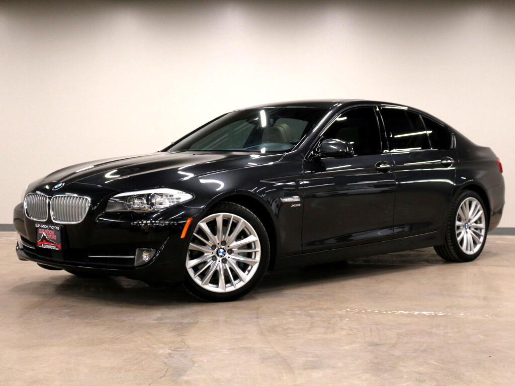 2012 BMW 5-Series 550i xDrive