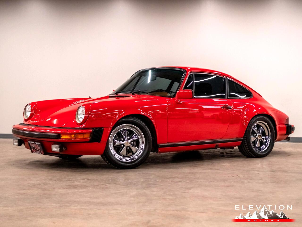 1982 Porsche 911 SC SC Coupe