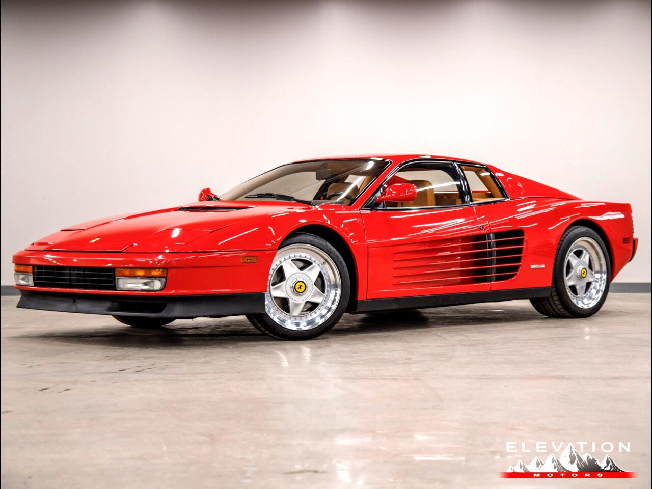 1989 Ferrari Testarossa Base