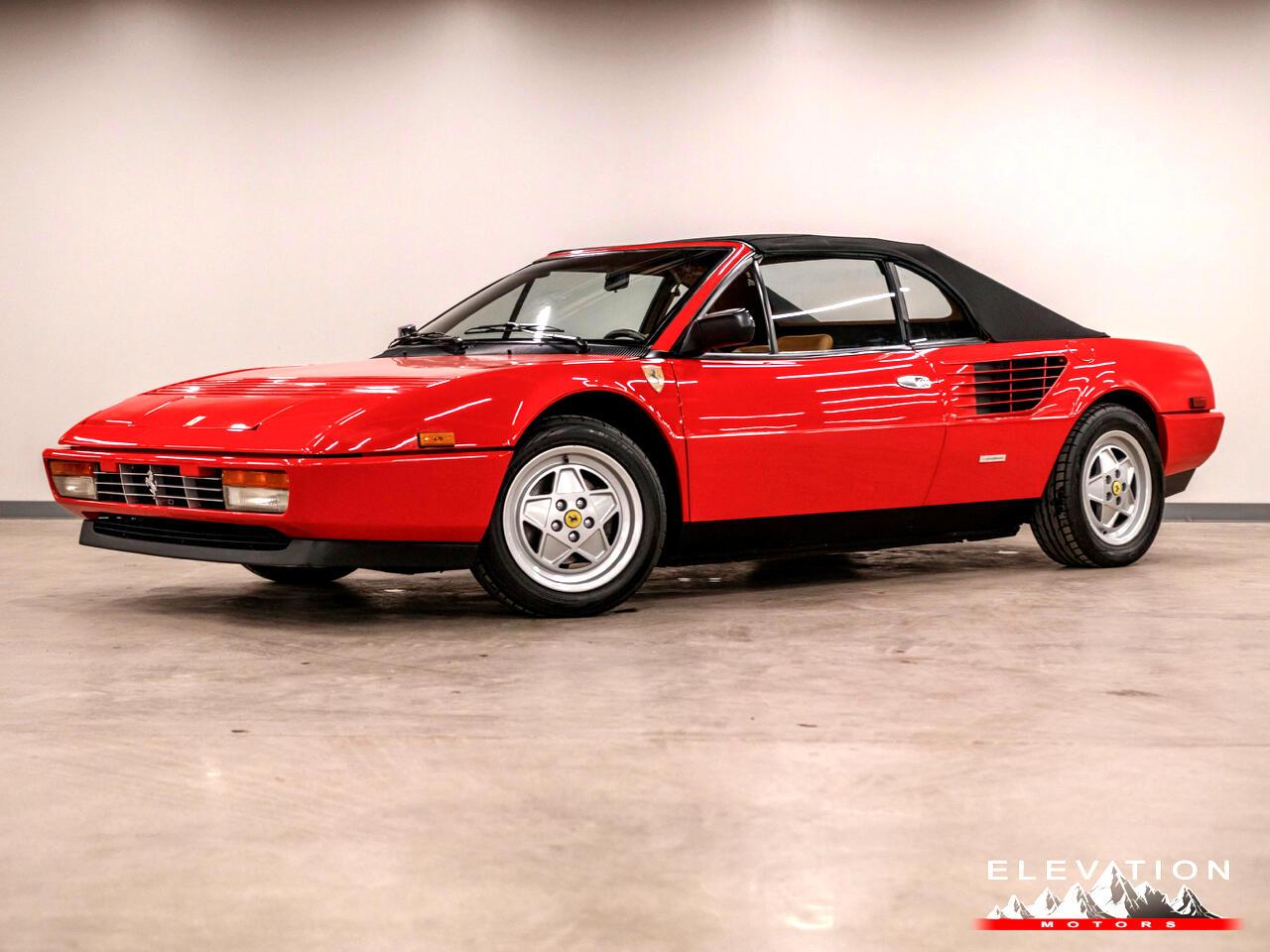 Ferrari Mondial Cabriolet 1987