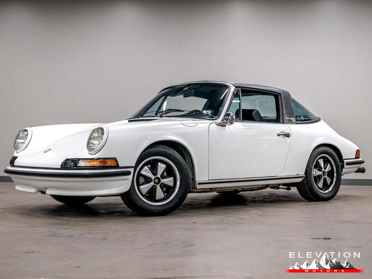 1971 Porsche 911S Targa