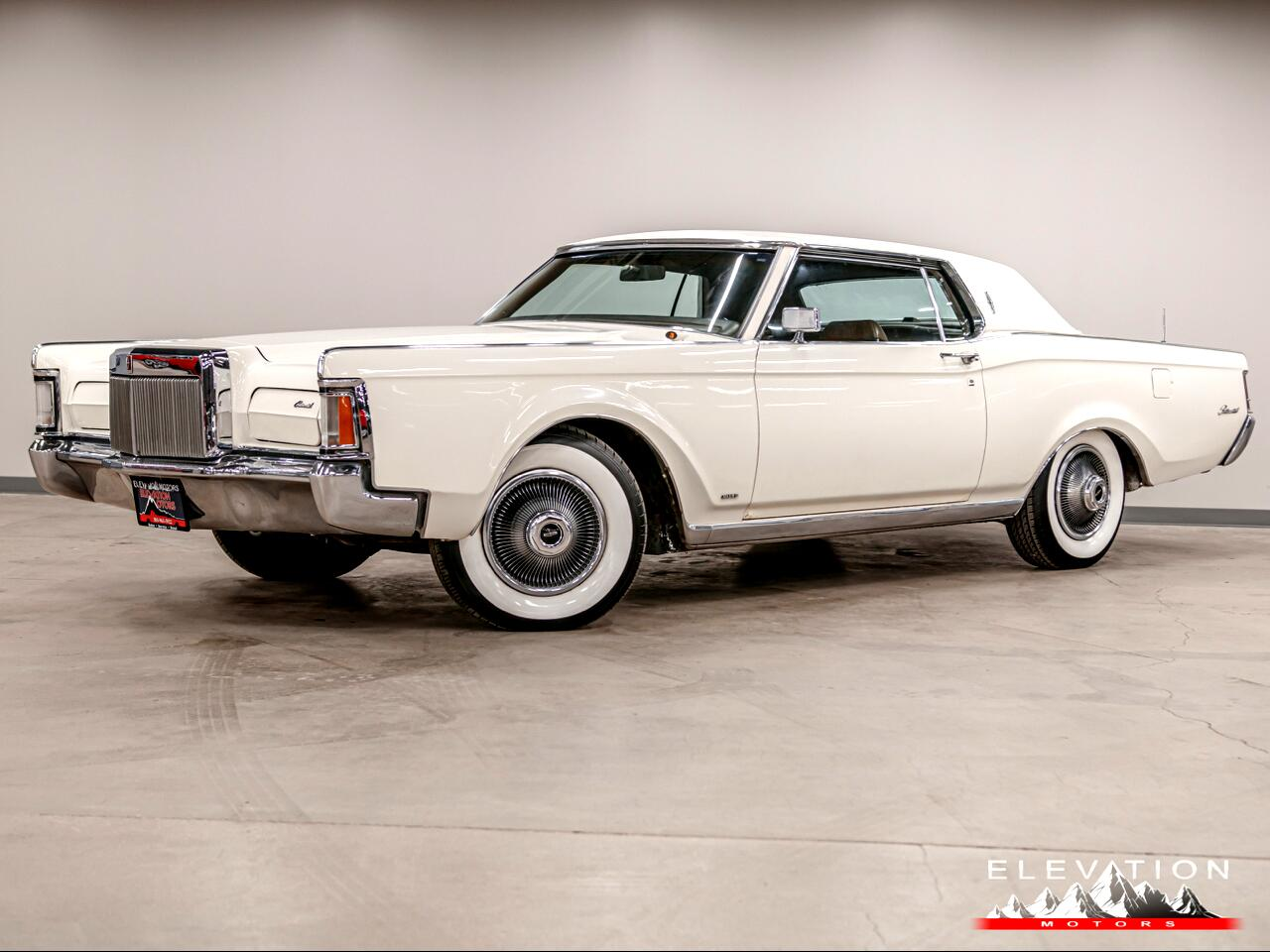 Lincoln Continental Mark III Base 1970