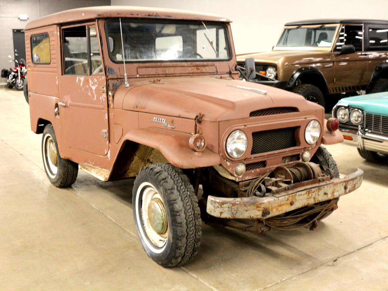 Toyota FJ40  1962