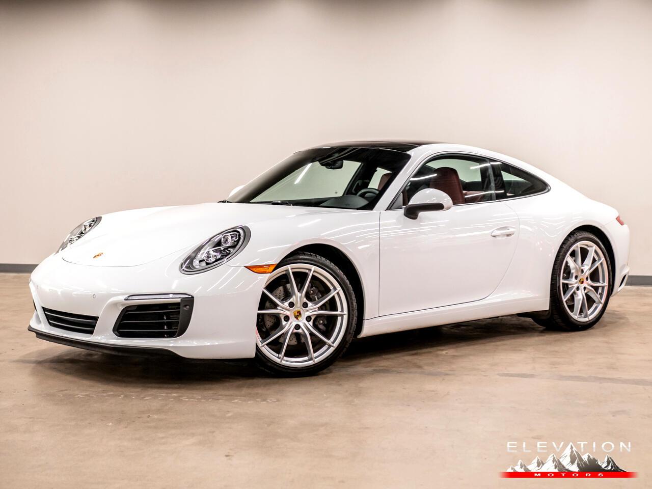 Porsche 911 Carrera Coupe 2018
